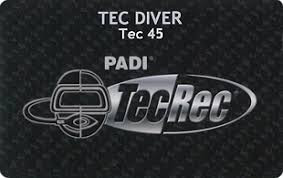 Photo of Tec 45 diving course.