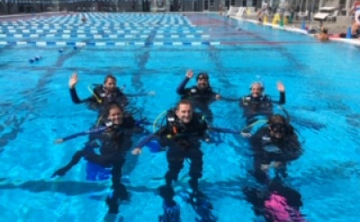 Photo of PADI Skin Diver Course diving course.