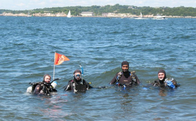 Photo of Guided Dive for Certified Divers diving course.