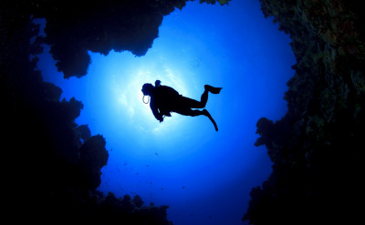 Photo of Deep Diver diving course.