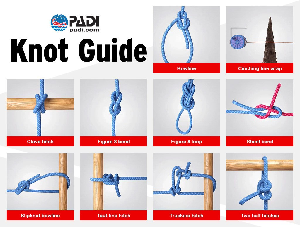 Photo of Knot-Tying & Rigging Course diving course.